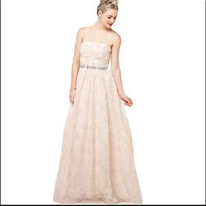 Adrianna Papell Dresses | Weddingball Gown Sz16 Unaltered | Poshmark